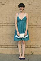 Charlotte Russe dress - JCrew heels