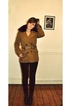 sam edelman boots - Comptoir des Cotonniers coat - Cheap Monday jeans