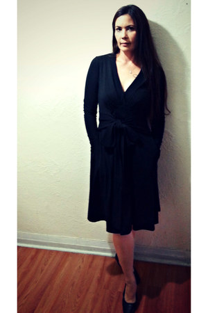 black eShakti dress