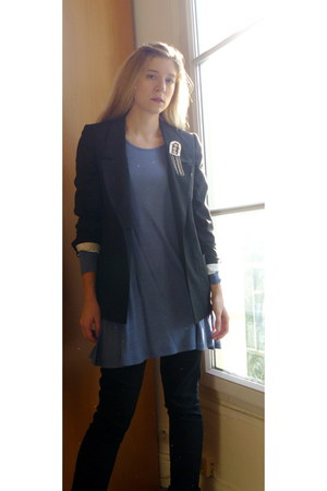 Jolt jeans - unknown brand blazer - H&M skirt - unknown brand accessories