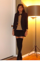 erotokritos sweater - iisli skirt - Brooks Brothers blazer - Marks and Spencers
