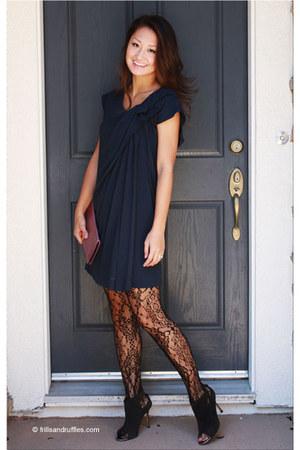 Manolo Blahnik boots - haute hippie dress