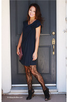 Manolo Blahnik boots - haute hippie dress