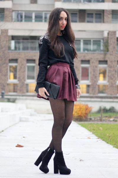 black Mostwanted sweater - black Ana Mar bag