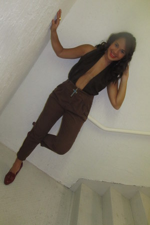 calvin klein vest - Forever 21 shoes - Zara pants