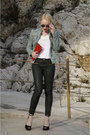 Aquamarine-promod-jacket-ruby-red-louis-vuitton-bag