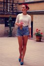 Ivory-zara-sweater-light-blue-diy-shorts-sky-blue-zara-heels
