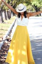 polyester furor moda skirt - polyester furor moda top