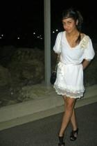 boutika dress - Sportsgirl shoes - flea market purse - diva accessories