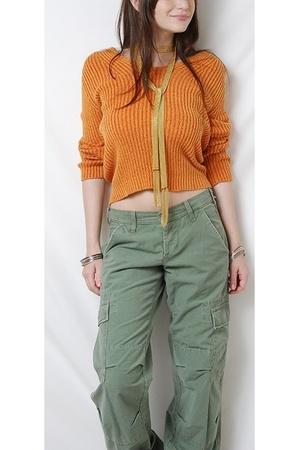 designer sweater - Joie pants