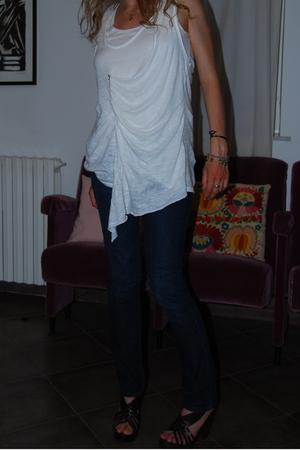 Zara top - H&M jeans - Zara shoes