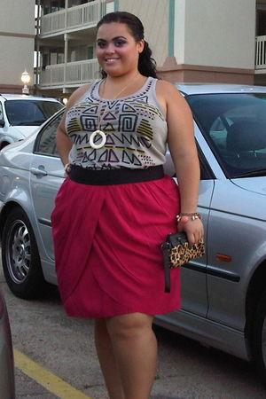 Target skirt - Target purse - Forever 21 bracelet - Forever 21 top - Forever 21