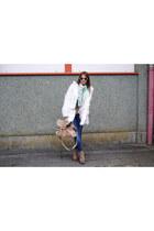 Jeffrey Campbell boots - BLANCO coat - Zara jeans - H&M sunglasses