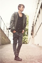 Zara boots - Urban Outfitters jacket