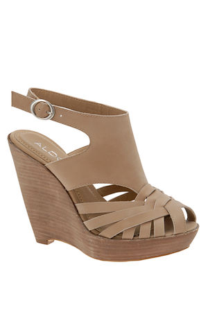 beige Aldo shoes
