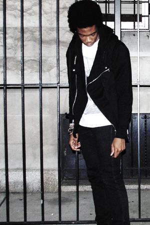 H&M jacket - H&M jacket - v magazine shirt - Levis jeans