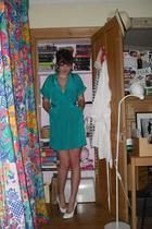 bcbg max azria dress - Topshop shoes