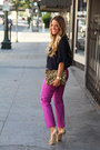 Zara-bag-jcrew-pants-steve-madden-heels-michael-kors-necklace