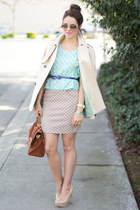 Steve Madden pumps - Zara jacket - Ray sunglasses