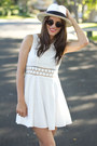 Free-people-dress-american-apparel-sunglasses-seychelles-wedges