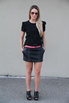 Forever 21 skirt - Zara top - Michael Kors heels
