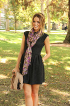 Urban Outfitters scarf - Aritzia dress