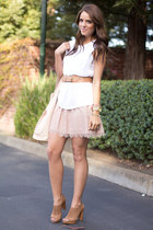 Forever 21 skirt - Zara top