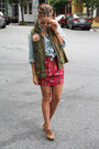 Old-navy-vest-banana-republic-heels-forever-21-skirt-target-top