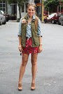 Old-navy-vest-target-top-forever-21-skirt-banana-republic-heels