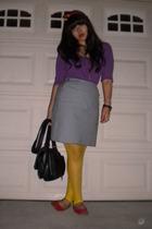Delias blouse - skirt - leggings - shoes - accessories