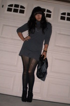 dress - tights - Fioni shoes - Target GO International vest