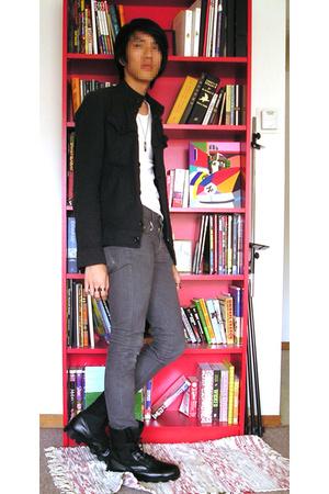 jacket - top - april 77 jeans - shoes