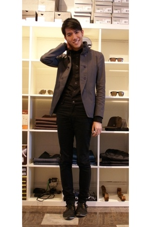 Endovanera jacket - Endovanera shirt - Cheap Monday jeans - Gram shoes