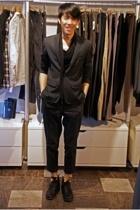 Kostym blazer - Diet Butcher Slim Skin top - Filippa K pants - Fiorentini  Baker