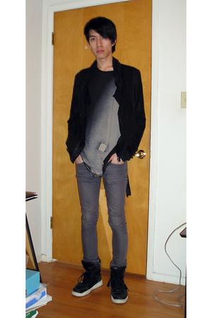 Diet Butcher Slim Skin jacket - DRKSHDW t-shirt - april 77 jeans - Diet Butcher