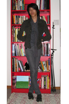 jacket - accessories - jeans - shoes
