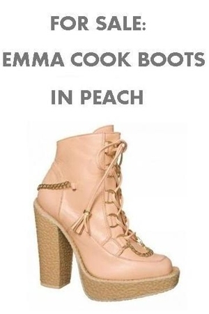 Emma Cook for Topshop boots