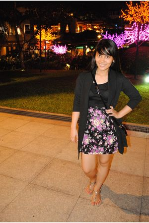landmark dress - Aldo shoes - black cardigan - kl
