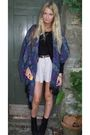 Blue-urban-outfitters-scarf-purple-topshop-shorts-black-urban-outfitters-sho