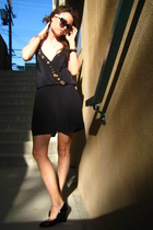 Vena Cava dress - Nine West shoes - forever sunglasses - hand me down from my gr