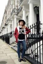 Monki jeans - Sheln jacket - New Dress top