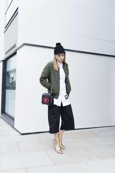 Missguided jacket - Monki hat - Zara heels