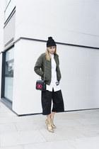 Missguided jacket - Monki hat - Zara heels