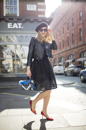 skinny dip bag - Self Portrait dress