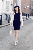 Moschino bag - Zara dress - Daniel Wellington watch - French Connection heels