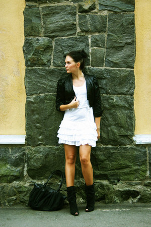 bec & bridge jacket - Bershka boots - vintage dress