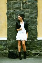 bec & bridge jacket - Bershka boots - vintage dress