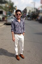 no brand shirt - off-white jeans Jaspal pants