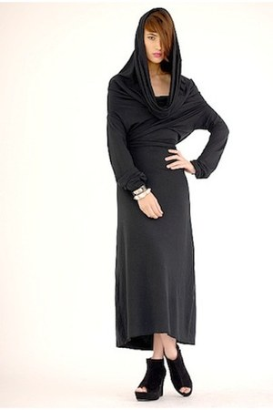 black cotton Babooshka Boutique dress