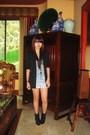 Black-insidegiannesclosetmultiplycom-blazer-blue-h-m-skirt-silver-shirt-